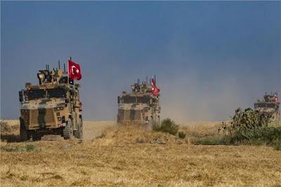 اردوغان, العدوان على شمال سوريا, قصف عشوائى للقرى, نزوح الاهالى, تركيا تستدعي السفير الأمريكي,