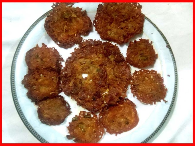 Quick And Easy Tawa Pakoray
