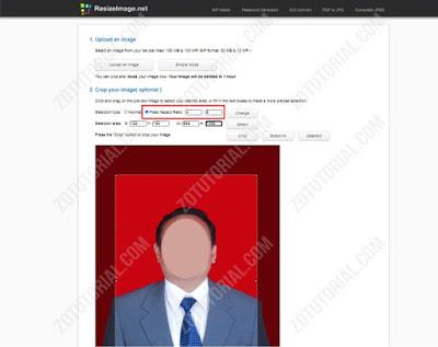 Crop pas Foto Ukuran 4x6 Online Tanpa Install Aplikasi zotutorial.com