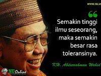 """Novel Terbaru 2017: Rindu Gus Dur """"Toleransi Beragama"""""""