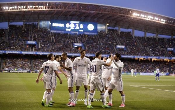 اهداف ريال مدريد وديبورتيفو لاكورونيا