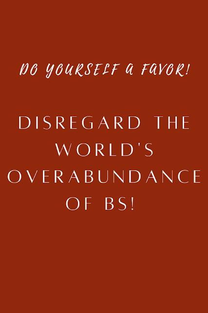 Disregard the worlds BS.