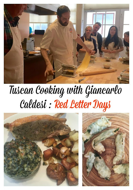 Tuscan Cooking with Giancarlo Caldesi : Red Letter Days