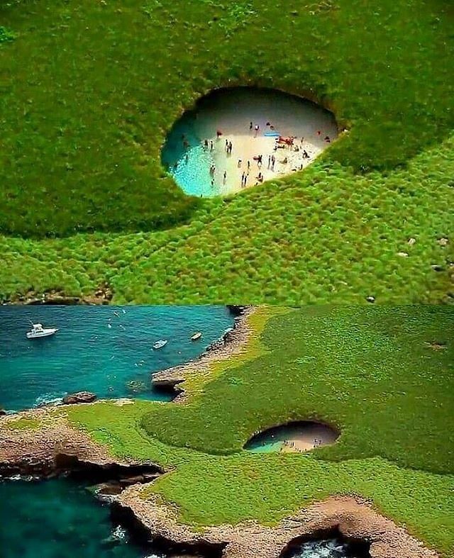 Hidden Beach of Islas Marietas, Mexico