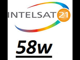 TP DE APONTAMENTO DVB-S SATÉLITE INTELSAT 21 58W - 12/04/2018