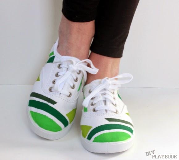 geometric shoes