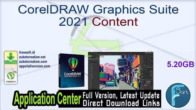 CorelDRAW Graphics Suite 2021 Content