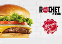 Logo Johnny Rockets Italia : Free Burger omaggio ( 1 oggi e 2 per il tuo compleanno)