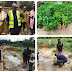 Okowa's aide plants trees to beautify community ~ Truth Reporters