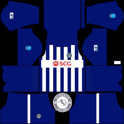 Kits Bà Rịa Vũng Tàu 2020 - Dream League Soccer 2019 & First Touch Soccer