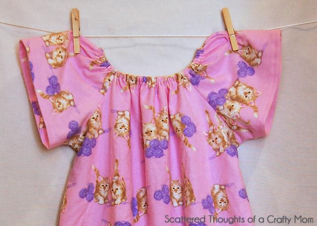 Peasant Dress Tutorial And Free Pattern Printable Pattern