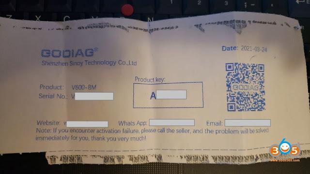 ISAT 4.28 Non riconosce GODIAG V600 BMW 2