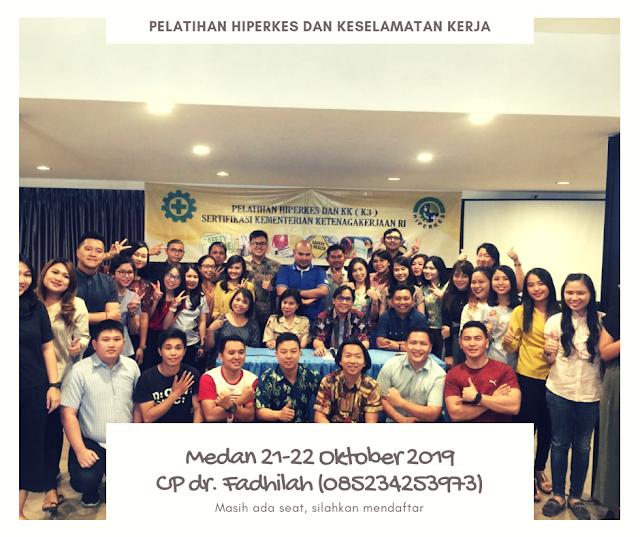 Fix Pelatihan Hiperkes Medan 21-25 Oktober 2019