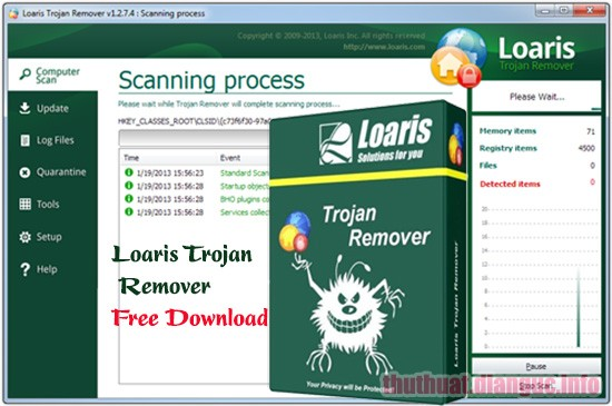 Download Loaris Trojan Remover 3.0.89.226 Full Crack, cách Trojan hoặc phần mềm độc hại, Loaris Trojan Remover, Loaris Trojan Remover free download, Loaris Trojan Remover full key
