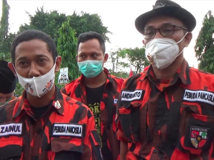Ketua MPC  Pemuda Pancasila Lamongan Instruksikan Kadernya Menangkan Kar- sa
