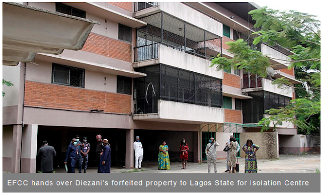 EFCC Hands Over Diezani's Forfeited Property To Lagos State as Isolation Centre
