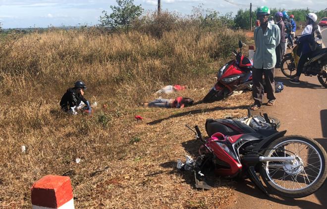 Gia Lai: Tai nạn thương tâm, 3 cô cháu tử vong