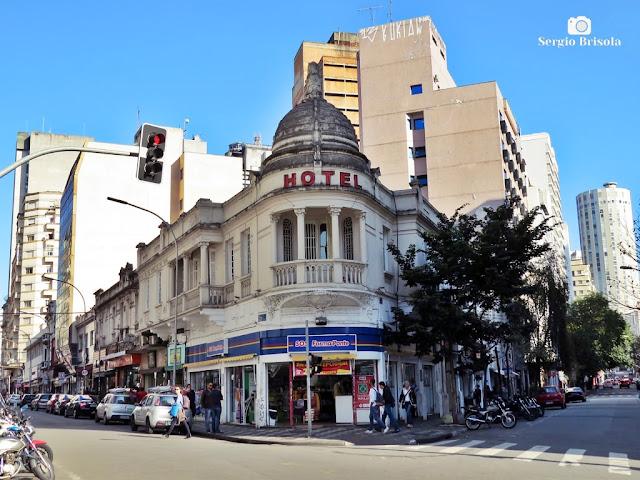 Vista ampla do atual Hotel Joia Rara - República - São Paulo