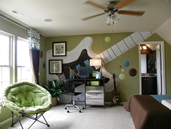 cuarto para joven tema música