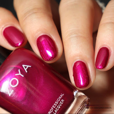 Nail polish swatch and review of Zoya Fallon from the winter 2017 Party Girls collection
