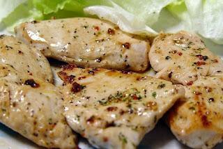 Pollo en Salsa de Nueces