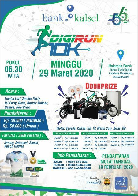 Bank Kalsel - DigiRun 10K • 2020