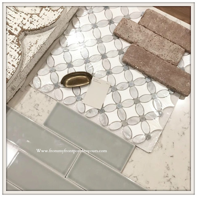 DIY Brick Project-New Home Selections-Tile-From My Front Porch To Yours