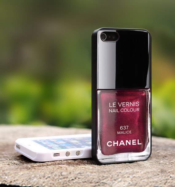 Little Bird Tell Chanel Nail Polish Iphone Case