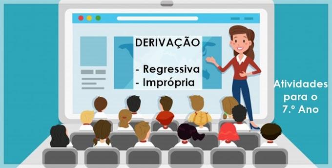 Formação de Palavras - Semana da Pátria - Atividades de Língua Portuguesa para o 7.º Ano