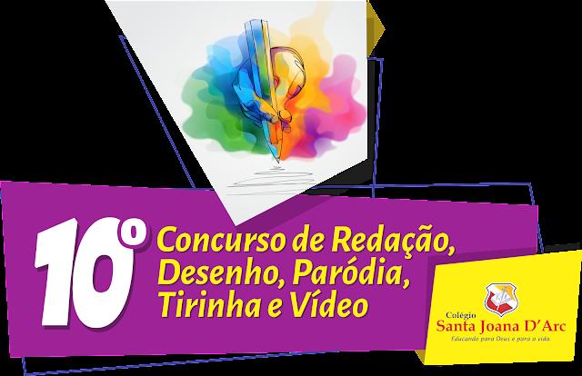 Alunos do CSJD são premiados no 10º concurso de redação, desenho, paródia e vídeo.