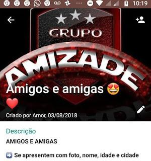 Amigos e Amigas - Grupo de WhatsApp