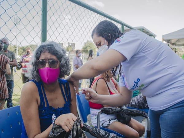 Milagres vacina 85% do público alvo da 3ª fase e é o 1º município do Cariri Leste autorizado a iniciar a 4ª fase