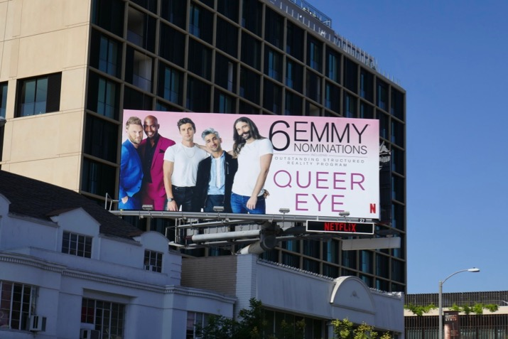 Queer Eye 2019 Emmy nominee billboard