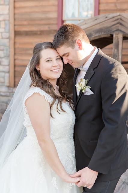 Shenandoah Mill Gilbert, AZ Wedding Bride and Groom Portraits by Micah Carling Photography