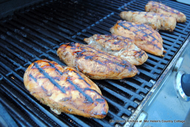 Grilled Rosemary Balsamic Chicken at Miz Helen's Country Cottage