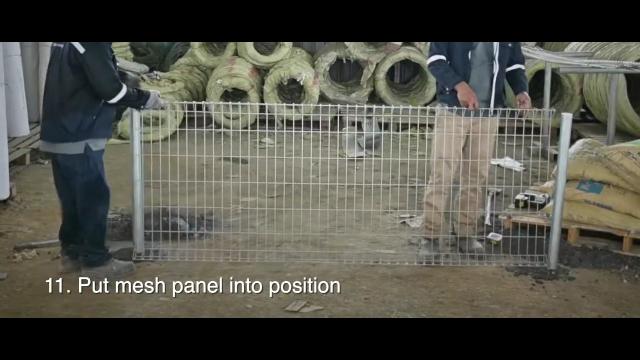 cara memasang pagar brc sendiri