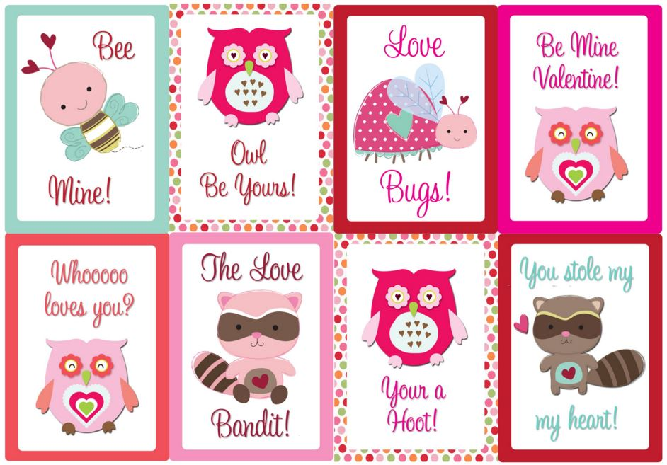 Printable Valentines Day Cards 2017 Free Printable Valentine – Valentine Card to Print