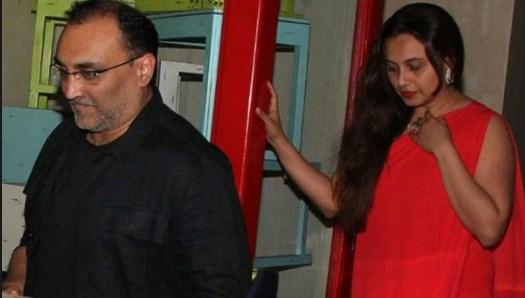 rani mukharji with husband
