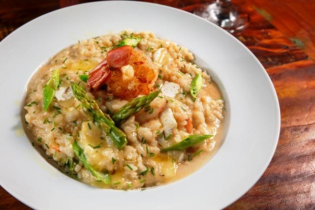 Restaurante Pino - Risoto de camarão
