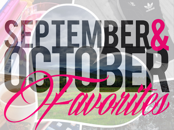 September & October Favorites'14