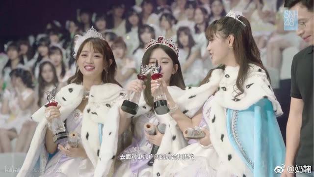 Li YiTong Faka Huang TingTing SNH48