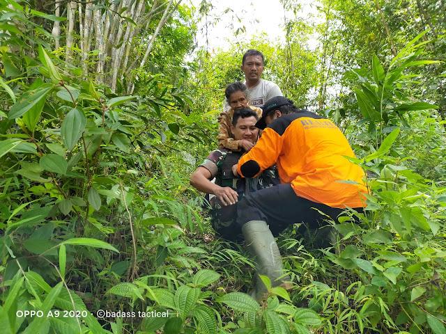KodimKaranganyar - Babinsa Turun Gunung Nenek Hilang Diketemukan