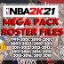 NBA 2K21 HISTORIC ROSTERS MEGA PACK by YUji_Itadori