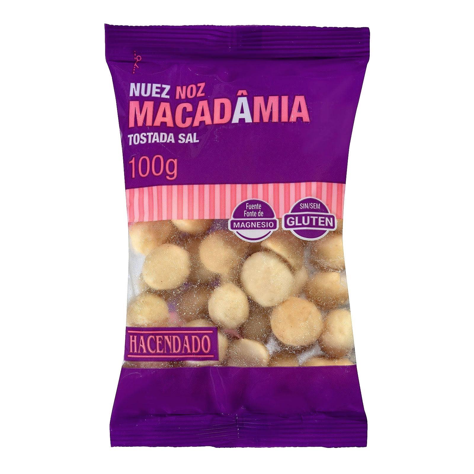 Nuez de Macadamia tostada con sal Hacendado