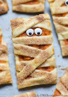 Recipe for vegan pumpkin filled cookies
