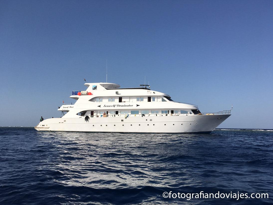 Crucero vida a bordo de buceo
