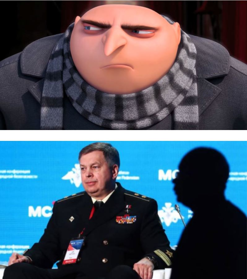 Image result for Mr. GRU - Admiral Kostyukov