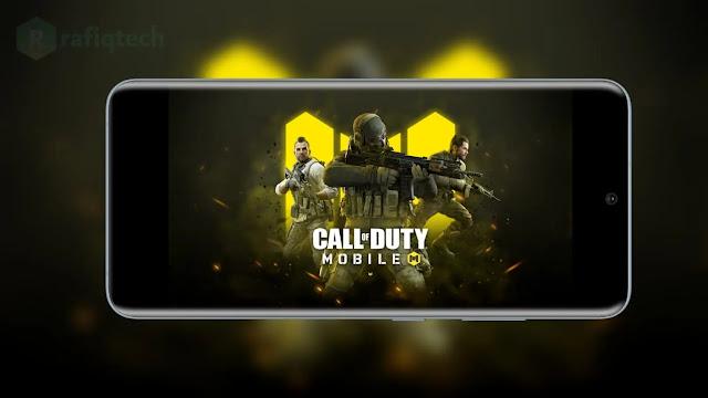 حل مشكلة الشاشة السوداء Call of Duty mobile