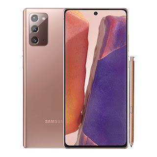 سعر و مواصفات هاتف جوال سامسونج جلاكسي نوت 20  Samsung Galaxy Note 20 في الأسواق