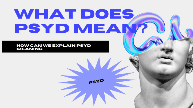 Psyd Meaning